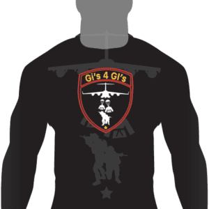 Gis 4 GIs Ranked LS Rashguard-Black
