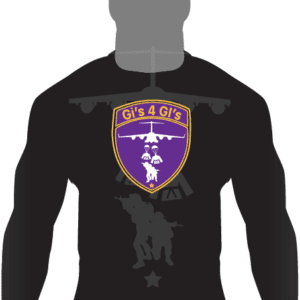 Gis 4 GIs Ranked LS Rashguard-Purple