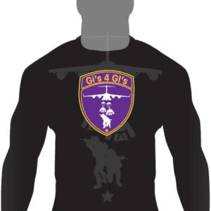 Gis 4 GIs Ranked LS Rashguard-Purple